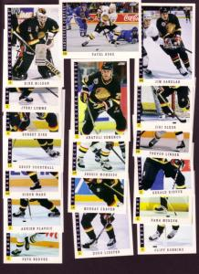 (18), Vancouver Canucks, 1993 Score Hockey Cards