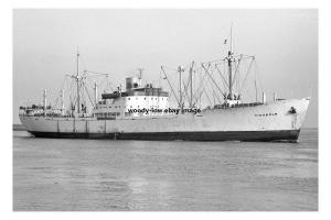 mc3922 - Swedish Cargo Ship - Tidaholm , built 1943 - photo 6x4