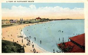 MA - Nantasket Beach. View of Beach