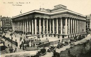 France - Paris, La Bourse