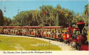 Lake Wales, Florida, FL, USA Postcard The Phanton Grove Express at the Master...