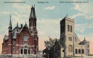 ATLANTA , Georgia , 1900-10s ; Presbyterian Churches