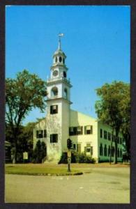 ME First Congregational Church KENNEBUNK Postcard Maine