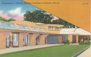Florida Lakeland Classrooms At Florida Southern College