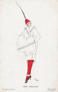 ART DECO ; Freda PEELE ; Female Fashion , TRES PIQUANTE , 1910-30s