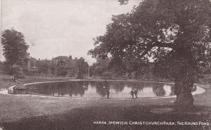Ipswich , Suffolk , England , 00-10s ; Christchurch Park , The Round Pond