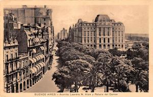 Buenos Aires Argentina Avenida Leandro N Alem y Palacio del Correo Buenos Air...