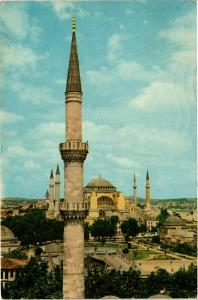 CPM Istanbul – The St. Sophia seen from the Blue Mosque Minaret TURKEY (851921)