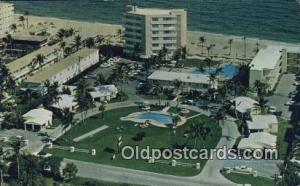Lighthouse Cove, Pompano Beach, Florida, FL USA Hotel Postcard Motel Post Car...