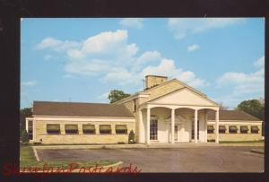 JOLIET ILLINOIS ROUTE 66 MANOR INN MOTEL US HWY 6 OLD ADVERTISING POSTCARD
