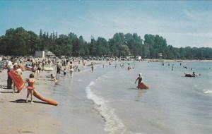 White Sandy Beach at Port Elgin, Ontario,  Canada, 40-60s