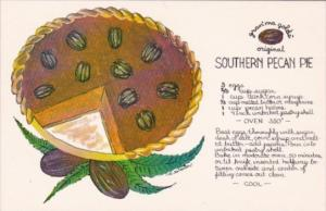 Recipe Card Gran'ma Gold's Original Southern Pecan Pie