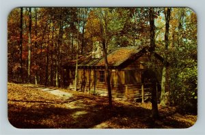 Zaleski OH- Ohio, Lake Hope State Park, Sleeping Cabins, Chrome Postcard