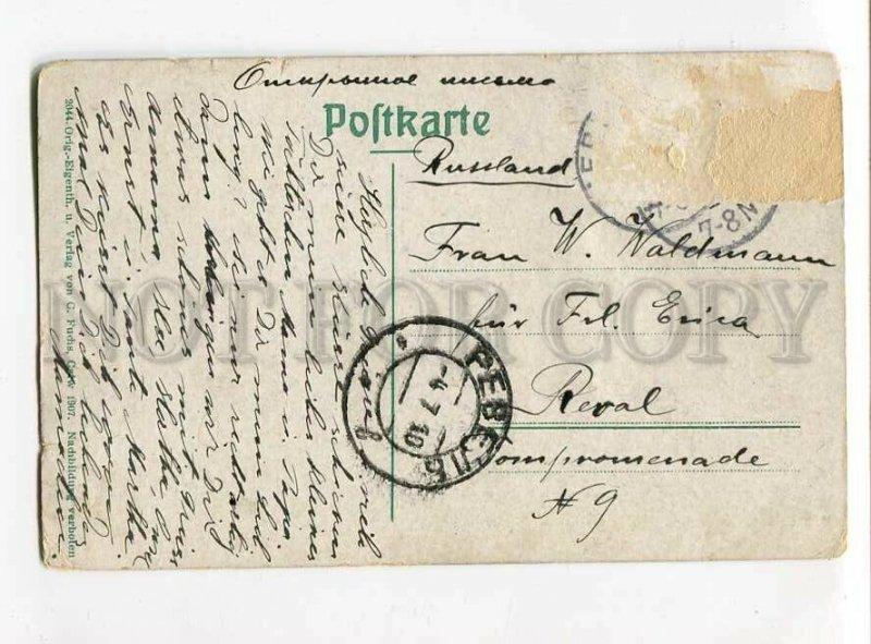 3083267 GERMAN Volksleben des Schwarzwald's Smoking boy Vintage