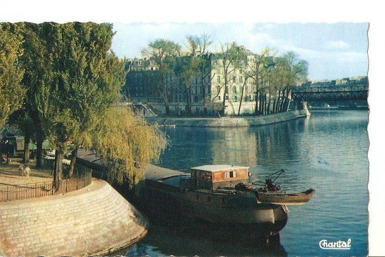 Postal (PostCard) 036822 : Paris. Pointe de lIle Saint-Louis