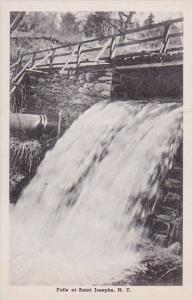 New York Saint Josephs Falls At Saint Josephs Albertype