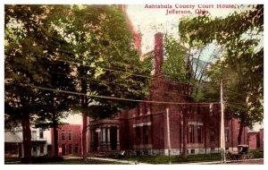 Illinois  Jefferson City Ashtabula County Court House
