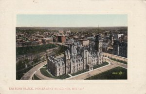 OTTAWA, Ontario, Canada, 1900-1910's; Eastern Block, Parliament Buildings