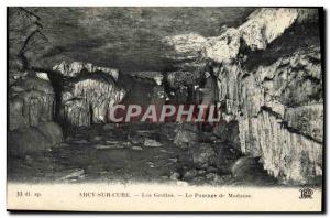 Old Postcard Arcy On Cury Caves Le Passage From Mrs.