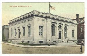 Exterior, Post Office, Amsterdam, New York,00-10s