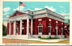 Pennsylvania Lebanon Post Office 1948 Curteich