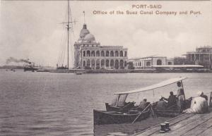 PORT-SAID, Egypt; Office of the Suez Canal Company and Port, 00-10s