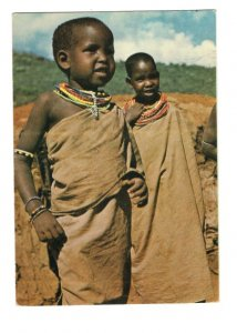 Maasai Girls, Kenya, Children