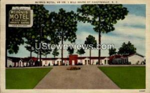 McInnis Motel Fayetteville NC Unused