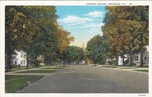 Conant Square Brandon Vermont Curteich