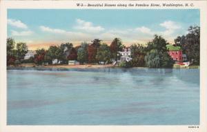 Homes Along The Pamlico River, WASHINGTON, North Carolina, 30-40´s