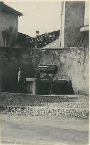 Italy Fontana fountain architecture Belluno photo postcard cartolina animata