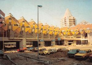 Netherlands Rotterdam Blaak Forest Tree Dwellings Eastside Cars Voitures