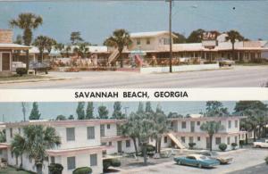 SAVANNAH BEACH , Georgia , 50-60s ; The Tides , Rooms & Apartments