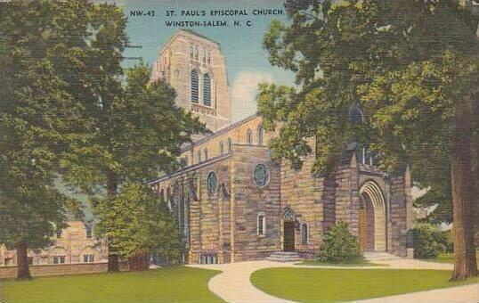 North Carolina Winston Salem Saint Pauls Episcopal Church