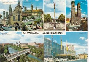 Germany Olympiastadt Muenchen Multi View