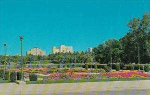Canada View From Legislative Gardens Regina Saskatchewan