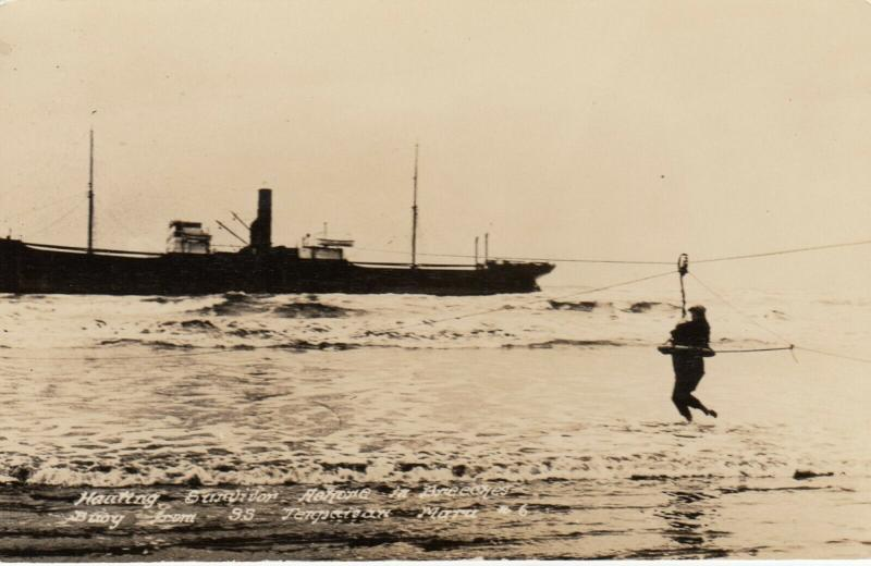 RP: Passenger Rescue , Tenperisan Mara Ship Wreck , 1920-30s