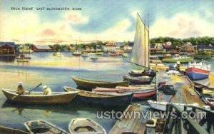 Dock - East Gloucester, Massachusetts MA