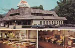 GATLINBURG , Tennessee , 50-60s ; Ogle's Buffet Restaurant, 3-views