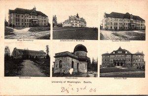 Washington Seattle Gymnasium Observatory Science Hall & More University Of Wa...