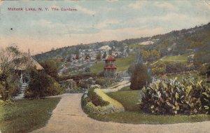 MOHONK LAKE, New York, PU-1913; The Gardens