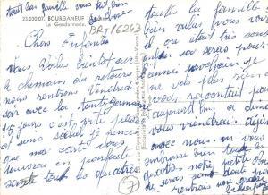 BR16243 bourganeuf la gendarmerie  france