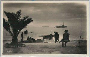 56129  -- CARTOLINA d'Epoca - LA SPEZIA città:  il PORTO  1930