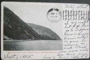 Old Cro Nest and Storm King Hudson Highlands NY 1905 Bryant Union No 102