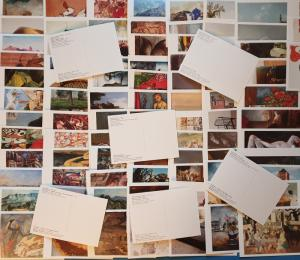 92 Different Brand New Art Postcards by Famous Artists JB275