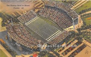 The Orange Bowl Miami, Florida, FL, USA Unused
