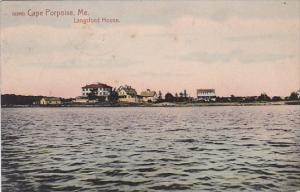 Maine Cape Porpoise Langsford House 1909