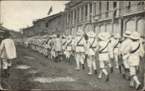 Boy Scouts in the Philippines Old Postcard