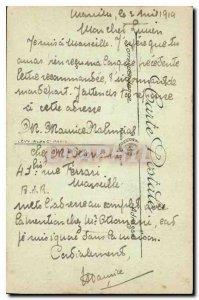 Old Postcard Marseille Le Chateau d'If Francois I