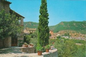 Spain Mallorca Valldemosa Carthusian Order From The Olivaret